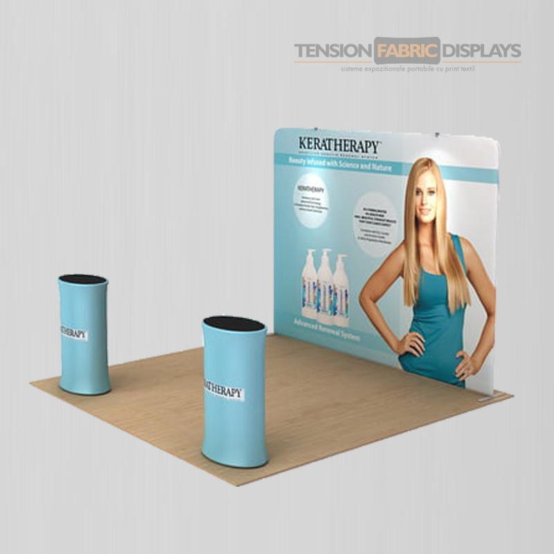 stand 3x3 tension fabric displays textil